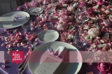 sweetheart wedding table - yes, I do!